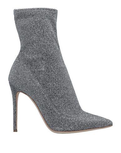 Купить Полусапоги и высокие ботинки от LERRE серебристого цвета