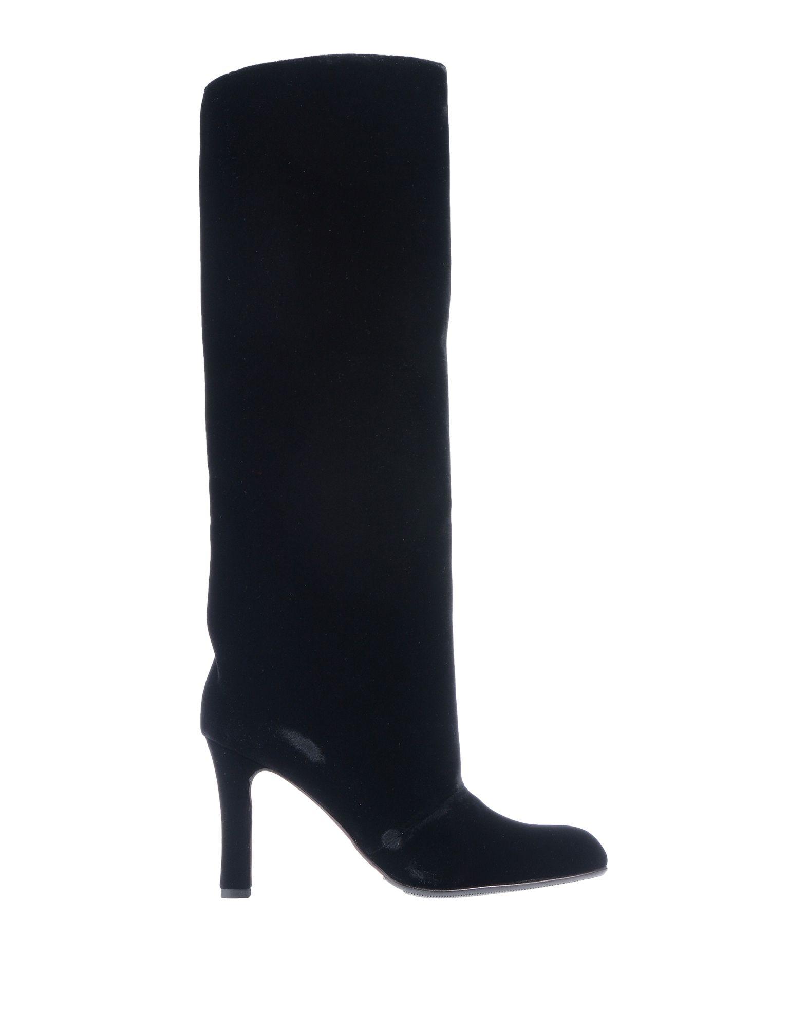 《セール開催中》MANOLO BLAHNIK レディース ブーツ ブラック 36.5 紡績繊維