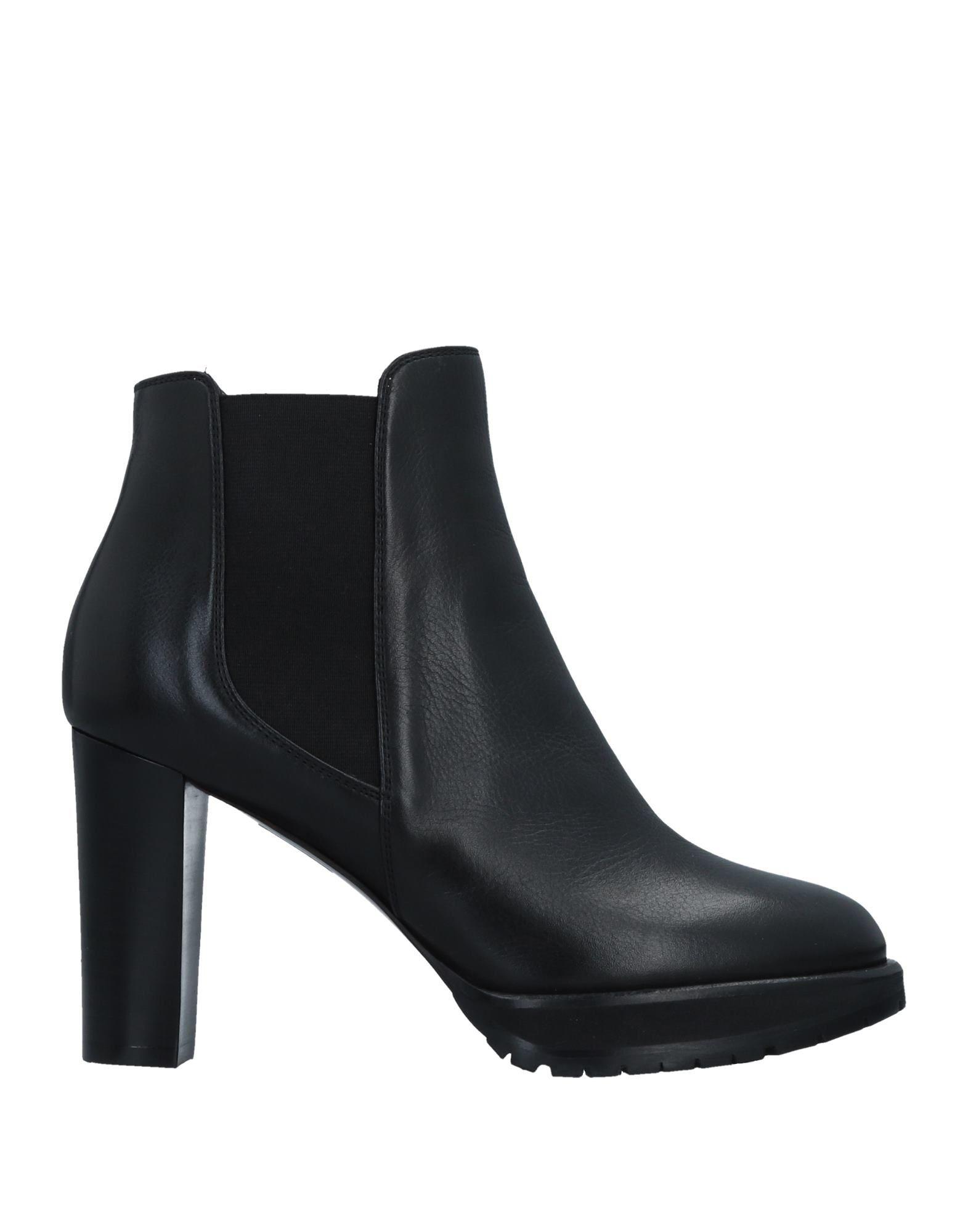 LELLA BALDI レディース ショートブーツ ブラック 37.5 革 / 紡績繊維