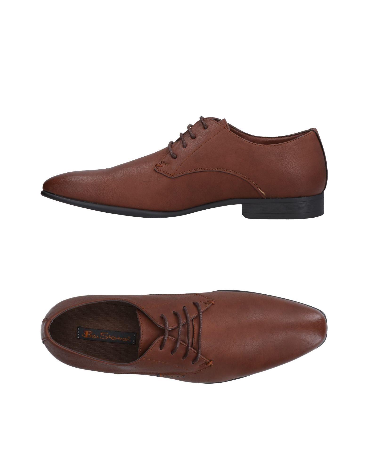 BEN SHERMAN Обувь на шнурках часы ben sherman ben sherman be376dmdcko5