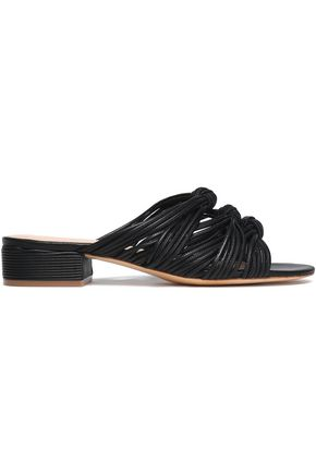 RACHEL ZOE Wren knotted leather sandals
