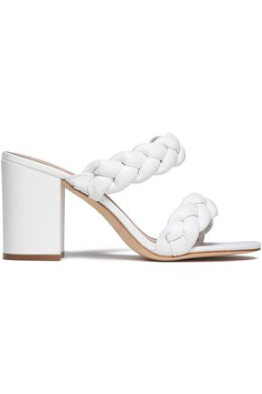 RACHEL ZOE Demi braided leather sandals