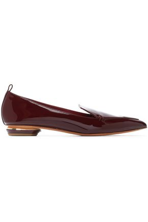 NICHOLAS KIRKWOOD Beya patent-leather slippers