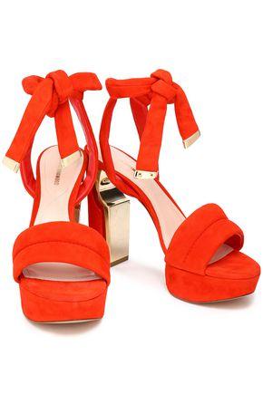 NICHOLAS KIRKWOOD Ziggy suede platform sandals