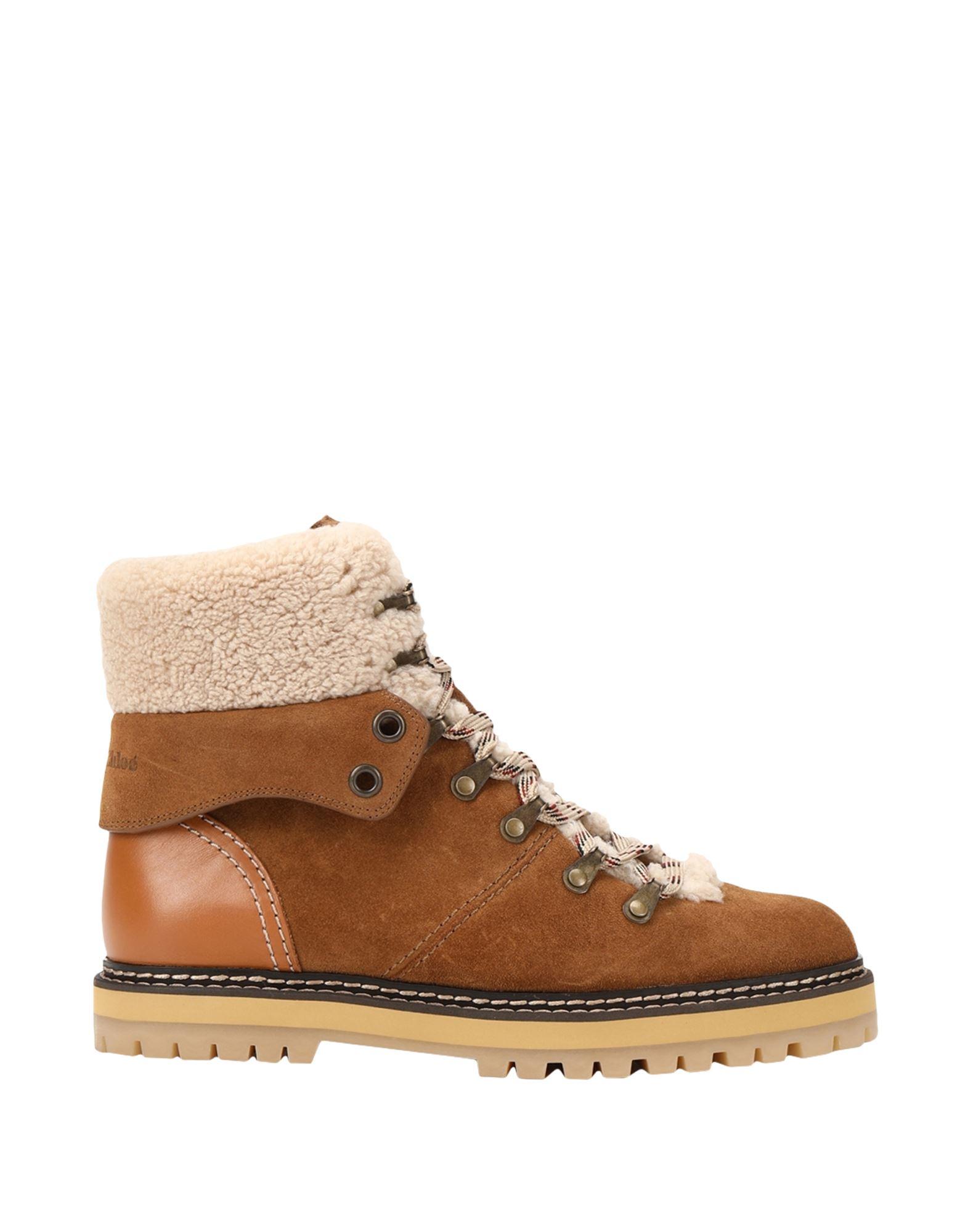 SEE BY CHLOÉ Полусапоги и высокие ботинки chloé ботинки