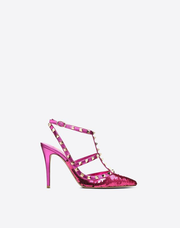 Rockstud Sequin Court