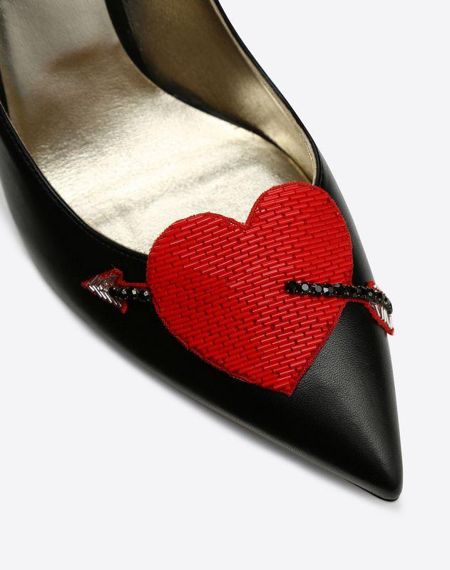 Love Story Heart Vamp Pump 105mm