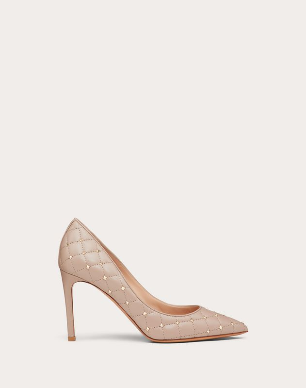 Quilted Rockstud Spike 90mm Pump