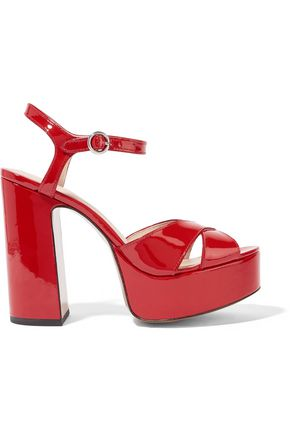 Patent Leather Sandals by Marc Jacobs