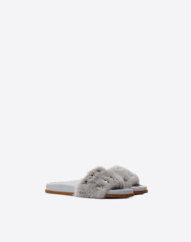 Mink Flat Sandal