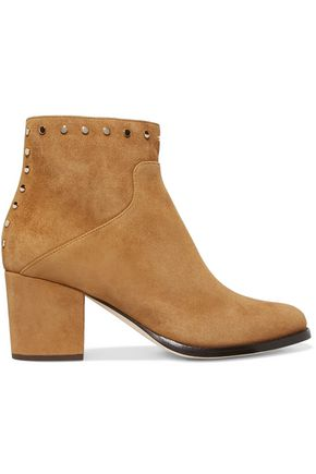 JIMMY CHOO Melvin 65 studded suede ankle boots