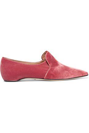 PAUL ANDREW Maude velvet slippers