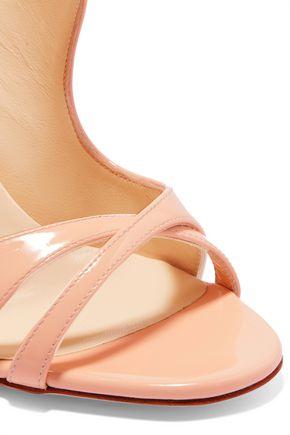 size 40 94cc4 78799 Malefissima 100 patent-leather sandals | CHRISTIAN LOUBOUTIN ...