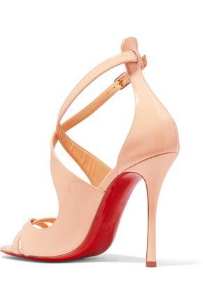 size 40 12c71 060ae Malefissima 100 patent-leather sandals   CHRISTIAN LOUBOUTIN ...