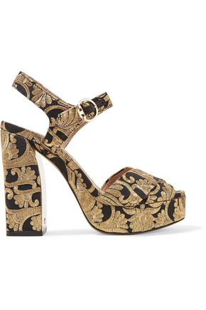 TORY BURCH Brocade sandals