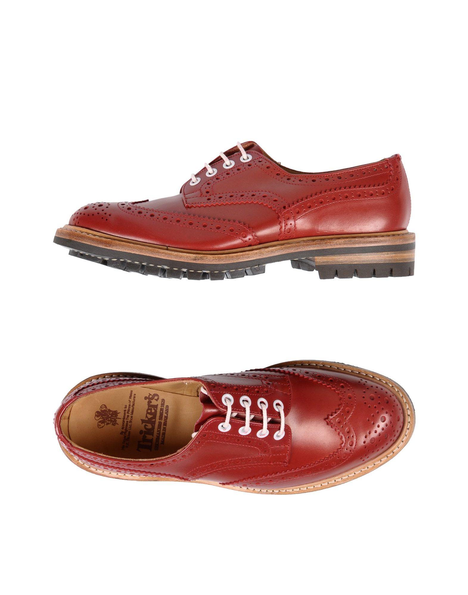 Фото - TRICKER'S Обувь на шнурках обувь на высокой платформе dkny