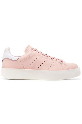 ADIDAS ORIGINALS Perforated leather sneakers