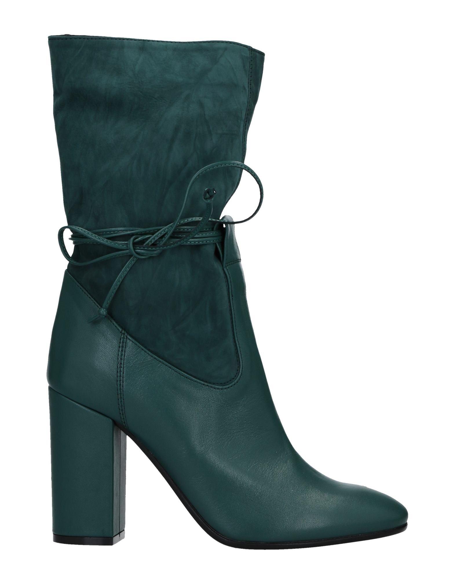 FIORIFRANCESI Ankle Boot in Deep Jade