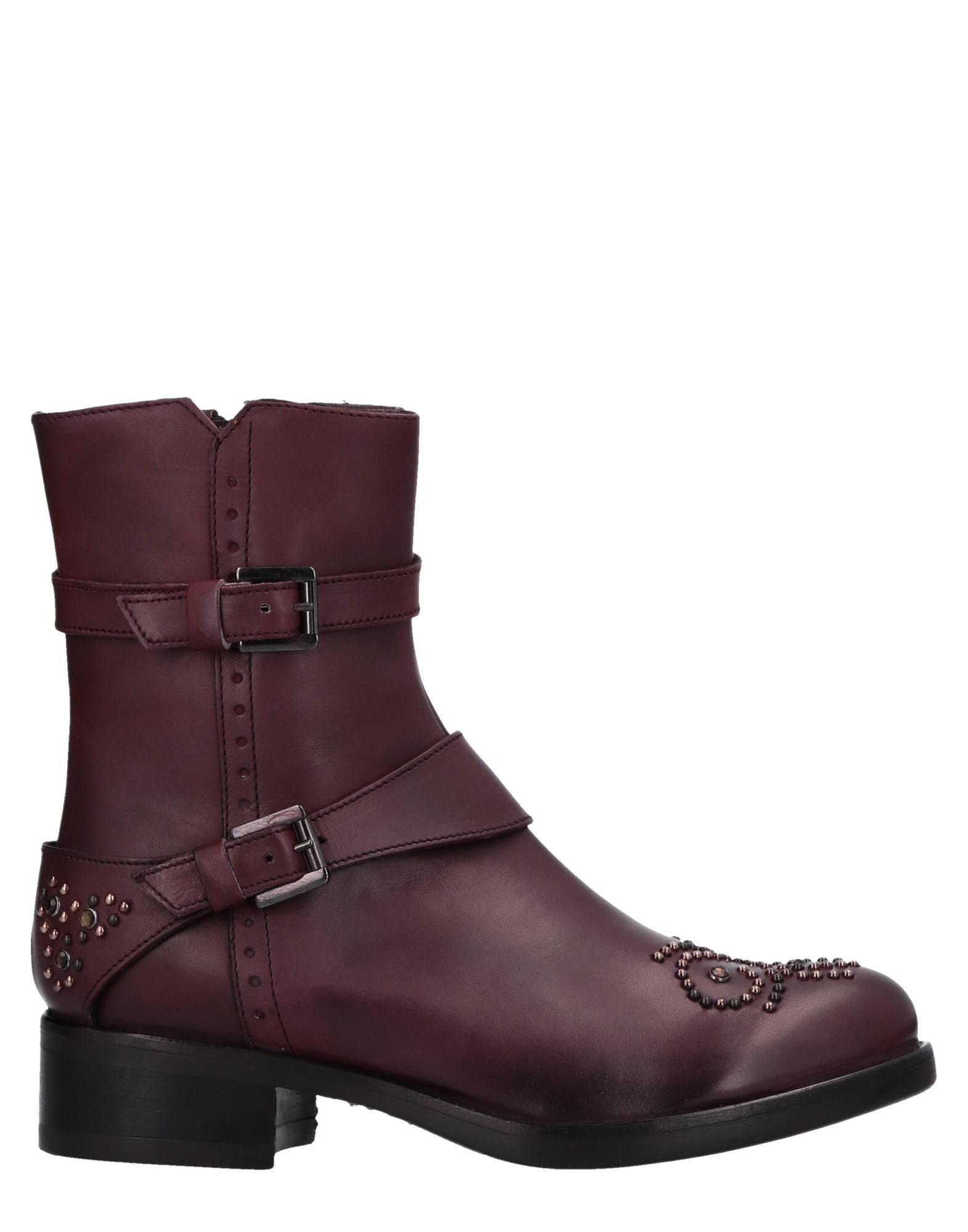 MANAS Ankle Boot in Mauve