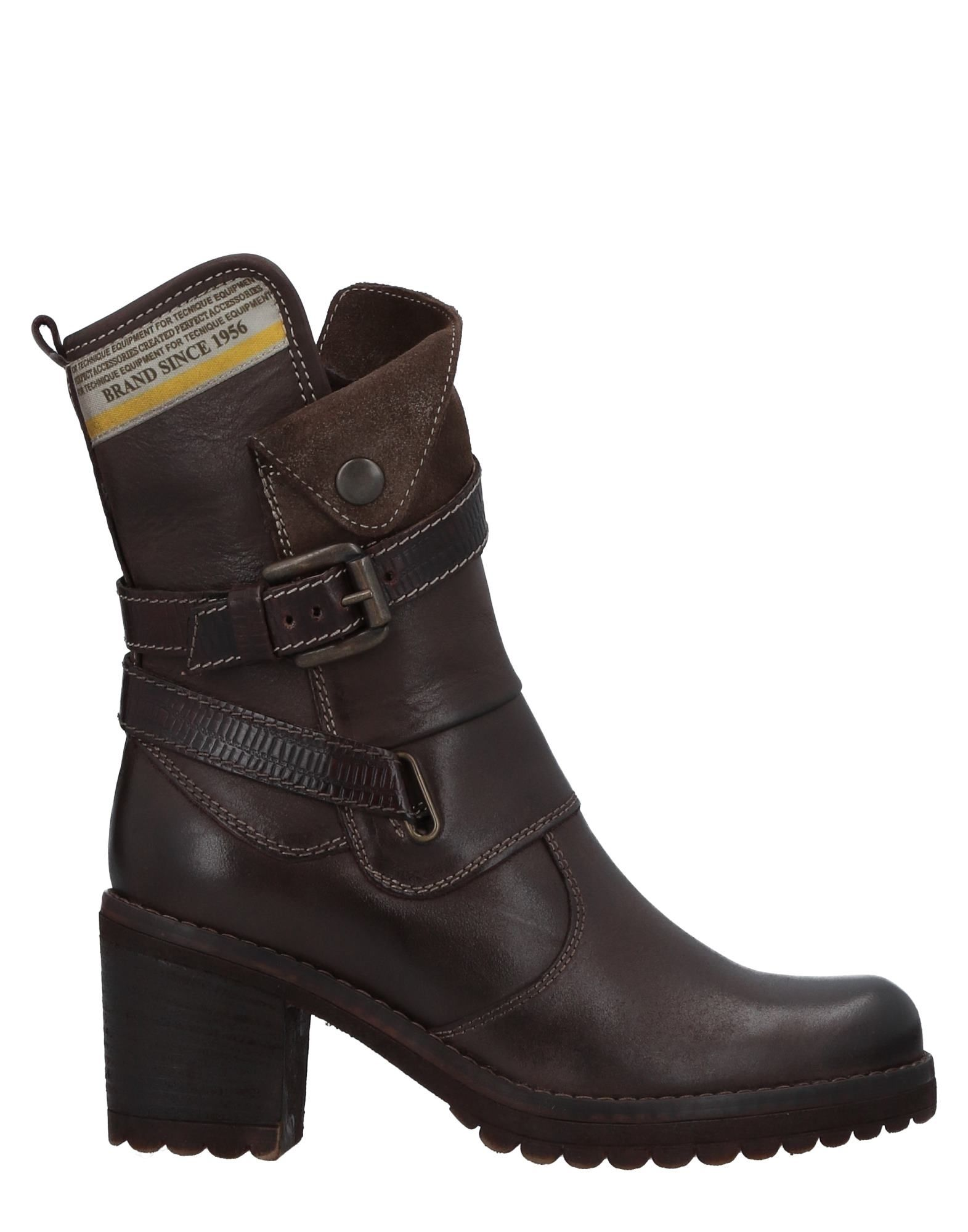 MANAS Ankle Boot in Dark Brown