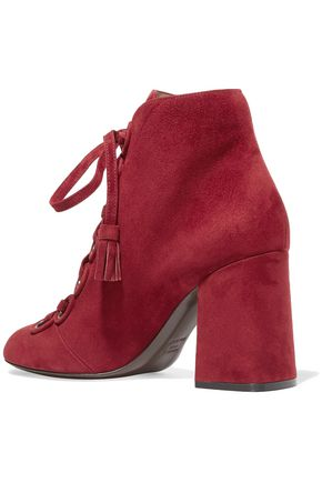 LAURENCE DACADE Lace-up leather ankle boots