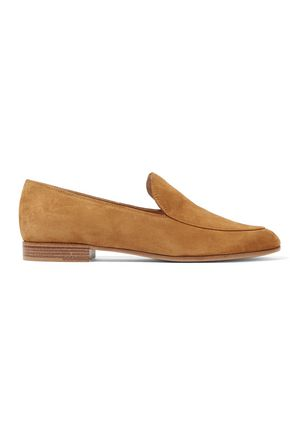 GIANVITO ROSSI Suede slippers