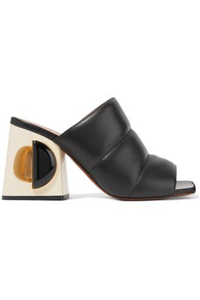 MARNI Quilted leather mules