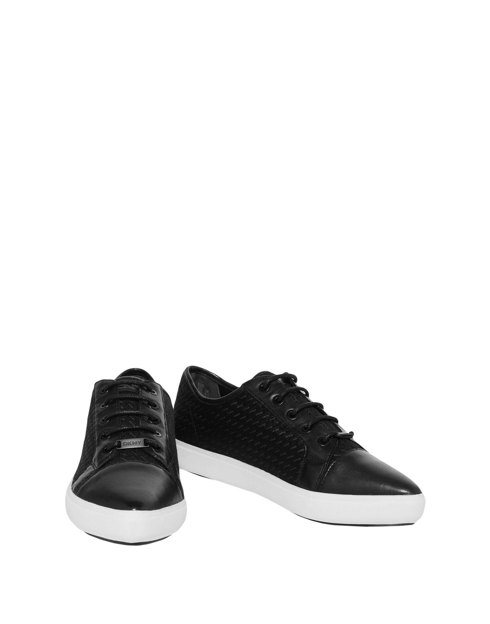 Фото - DKNY Низкие кеды и кроссовки обувь на высокой платформе dkny