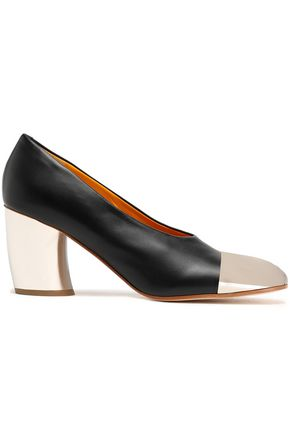 PROENZA SCHOULER Two-tone leather pumps