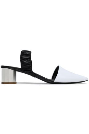 PROENZA SCHOULER Two-tone leather slingback mules