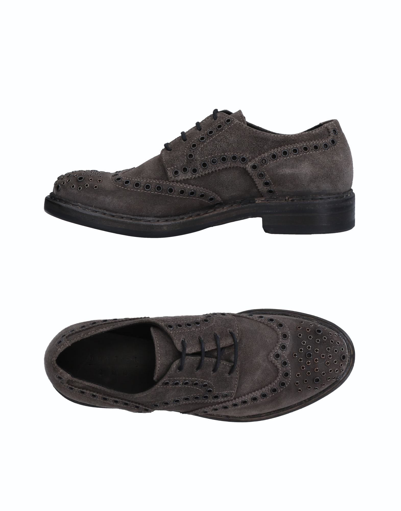 HUNDRED 100 Laced Shoes in Grey