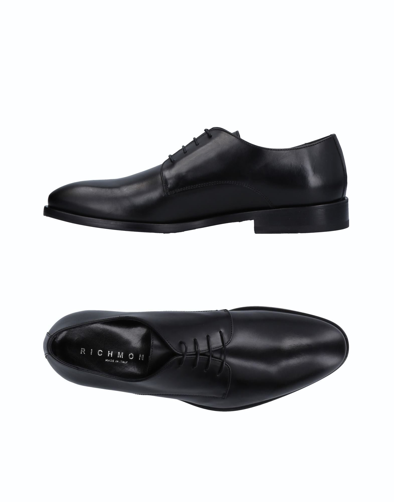 RICHMOND Laced Shoes in Black