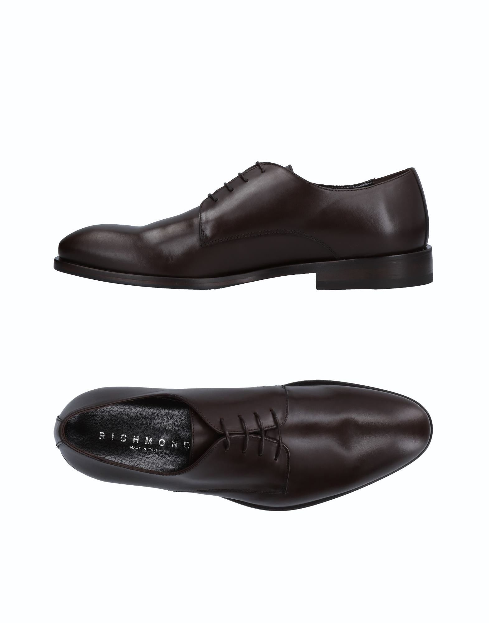 RICHMOND Laced Shoes in Dark Brown