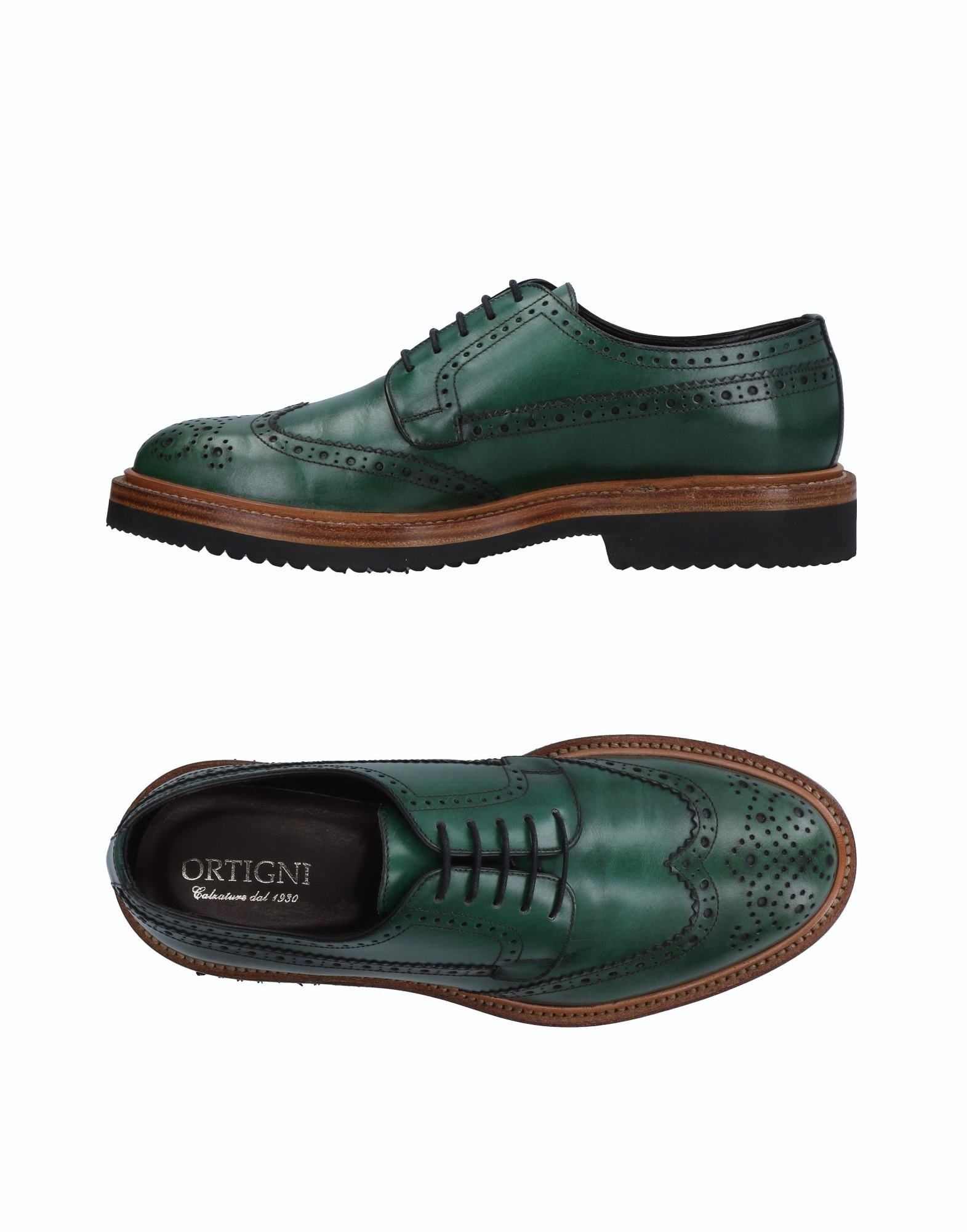 ORTIGNI Laced Shoes in Green