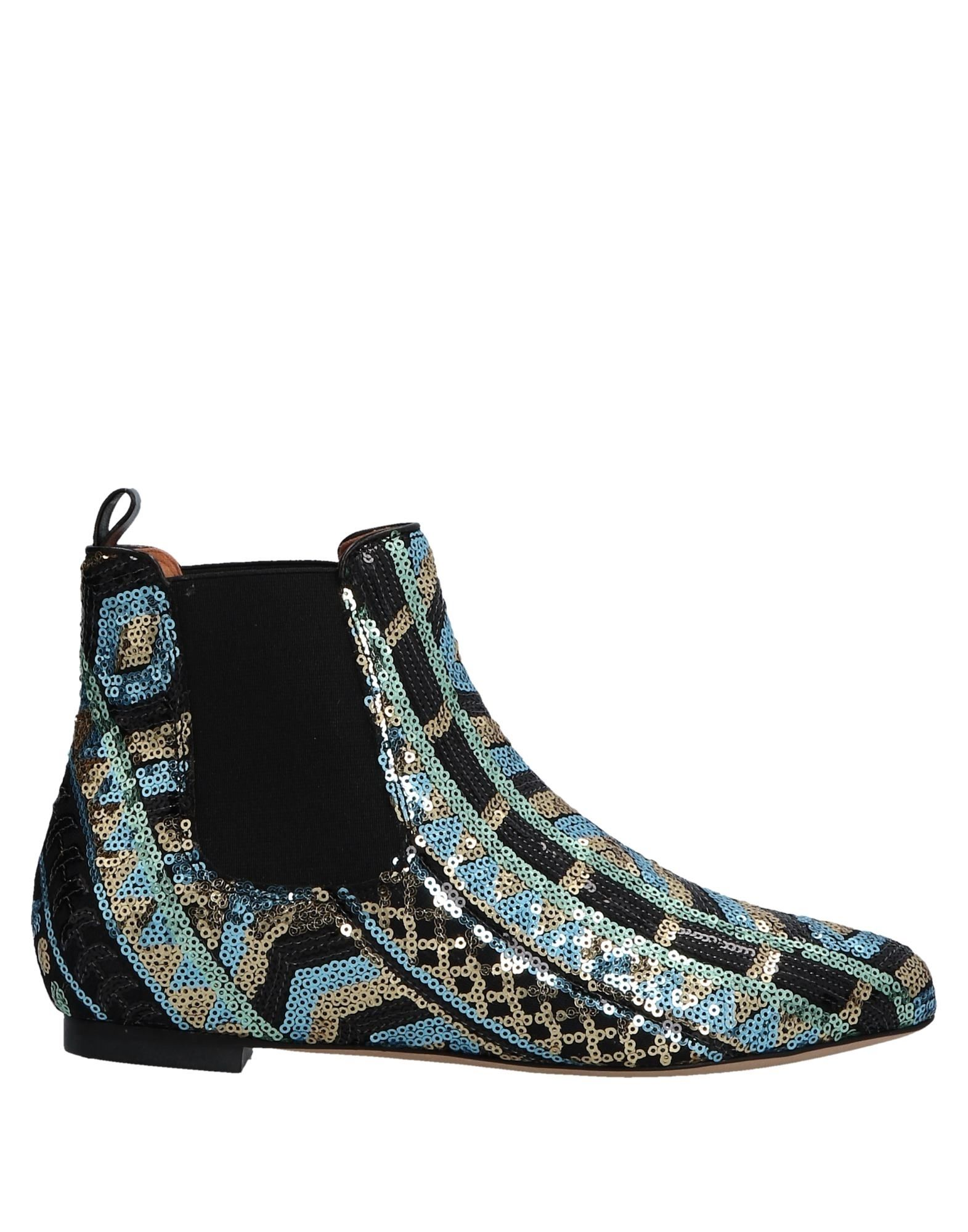 BAMS Ankle Boots in Sky Blue