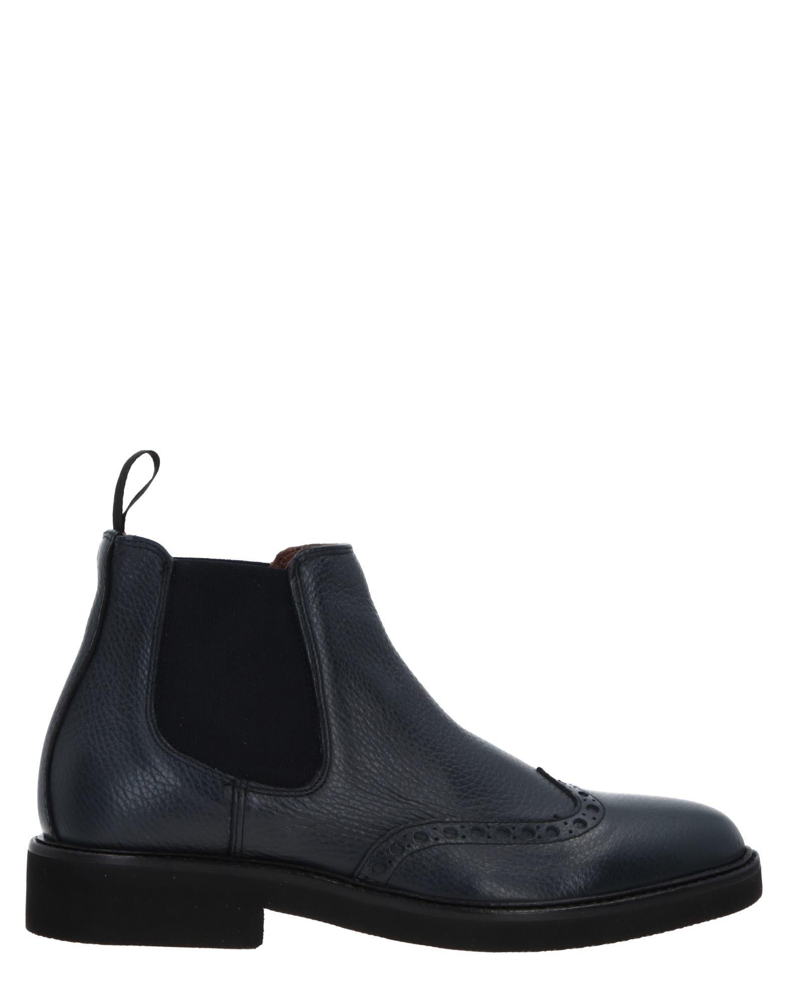 ROBERTO BOTTICELLI Boots in Dark Blue