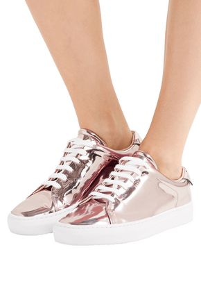 AXEL ARIGATO Mirrored-leather sneakers