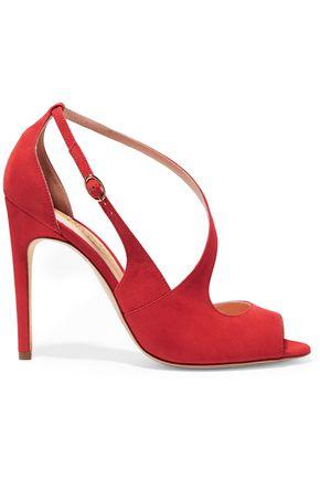 RUPERT SANDERSON Jewel suede sandals