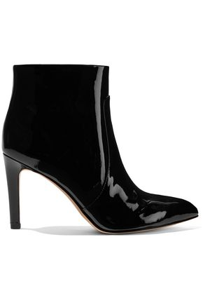 SAM EDELMAN Patent-leather ankle boots