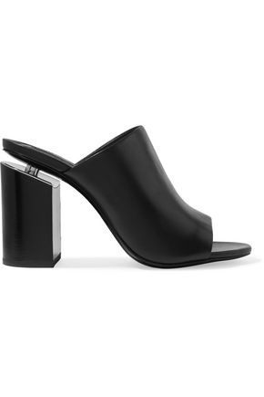 ALEXANDER WANG Avery leather mules