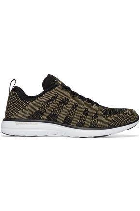 APL® ATHLETIC PROPULSION LABS Techloom Pro metallic mesh sneakers