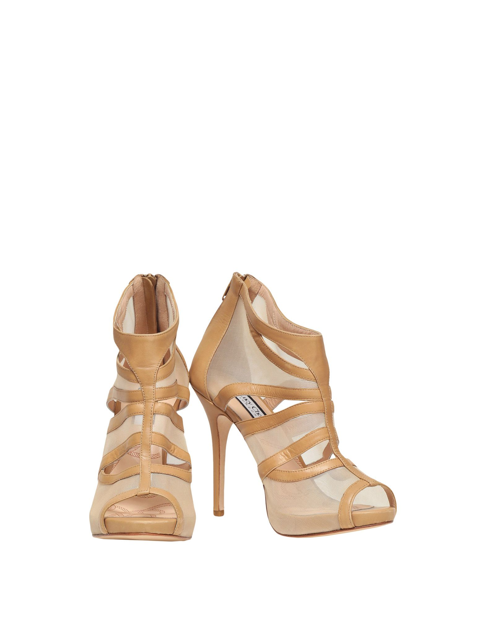 LUCY CHOI LONDON Ankle Boot in Camel