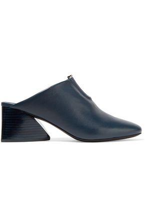 MERCEDES CASTILLO Tami embellished leather mules