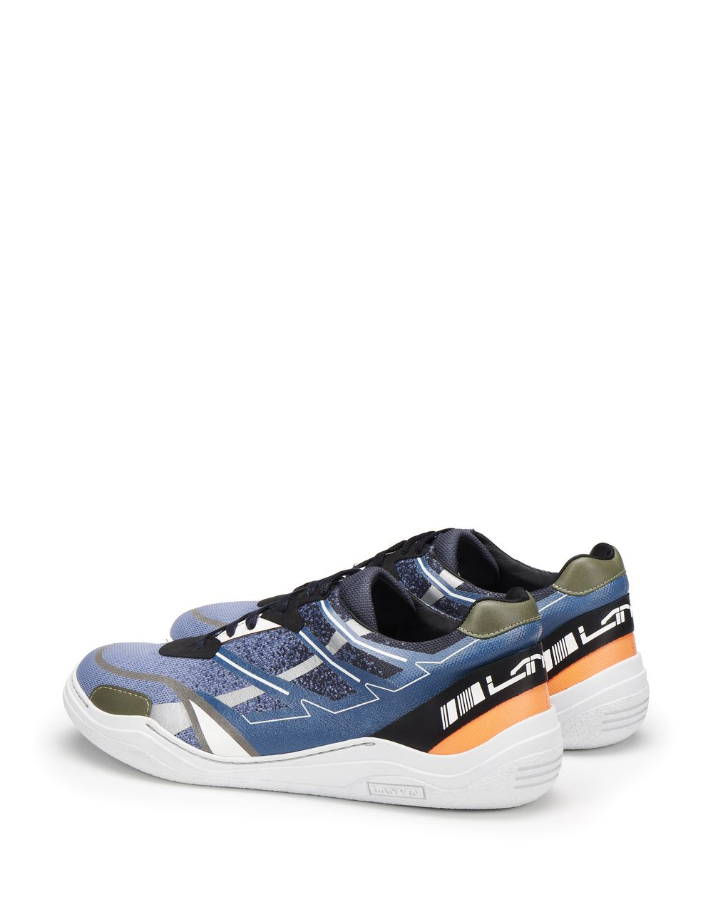 LOW-TOP SCREEN-PRINTED DIVING SNEAKERS - Lanvin