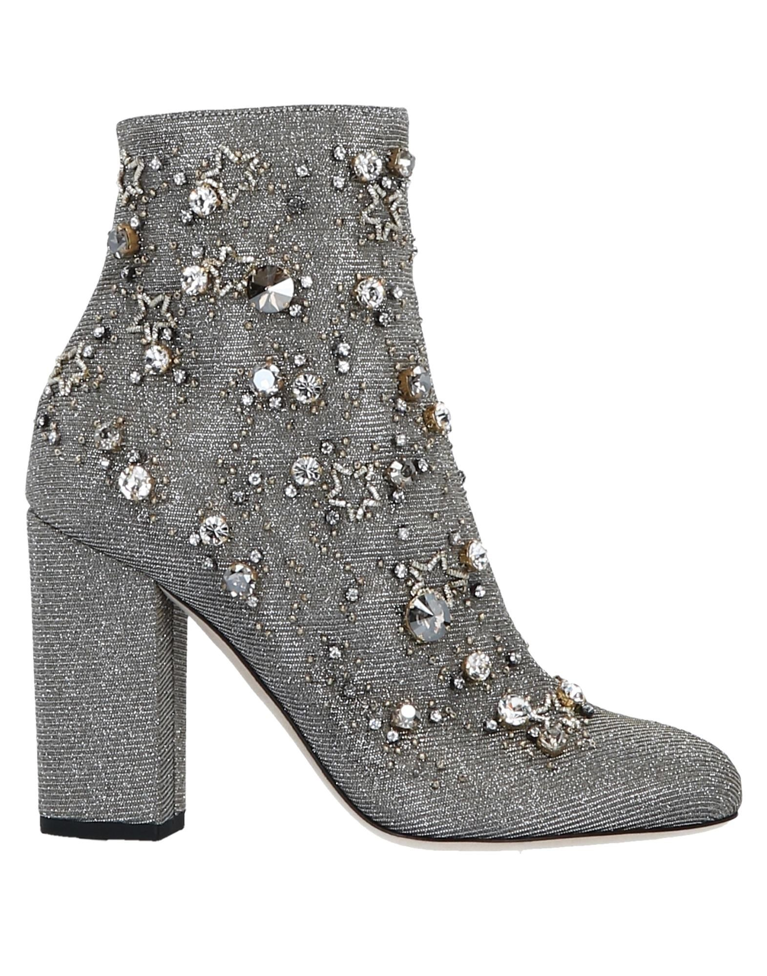 GEDEBE Ankle Boots in Silver