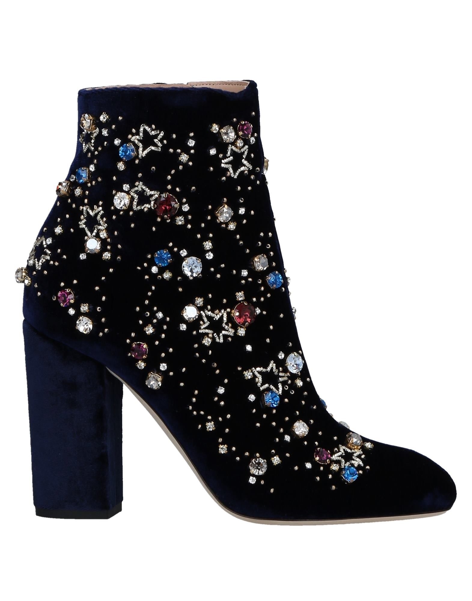 GEDEBE Ankle Boots in Dark Blue