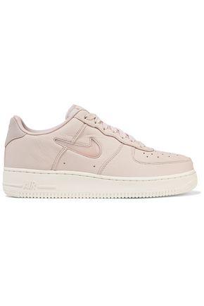 NIKE Air Force 1 Jewel leather platform sneakers