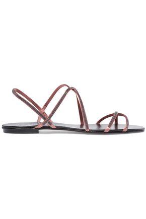 PEDRO GARCÍA Esme Swarovski crystal-embellished satin sandals