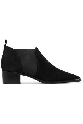 ACNE STUDIOS Jenny suede ankle boots