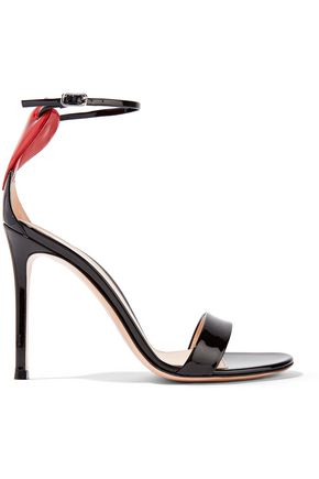 GIANVITO ROSSI Love Portofino 110 patent-leather sandals